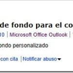 Outlook 2010: Diseñar fondos personalizados (HTM)