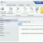 Outlook: Exportar contactos en formato CSV (valores separados por comas) (Windows)