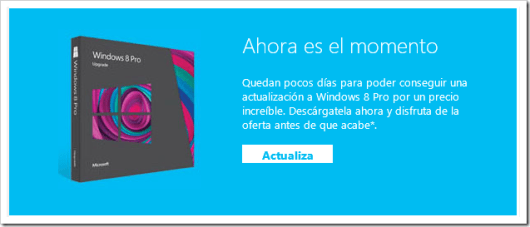 Actualizar a Windows 8