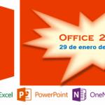 Fecha de lanzamiento de Office 2013