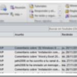 Outlook | Categorías y Seguimiento:  Diferencias entre cuentas IMAP y POP