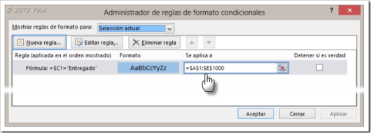 Excel - Formato condicional 5