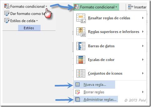 Excel - Formato condicional 1
