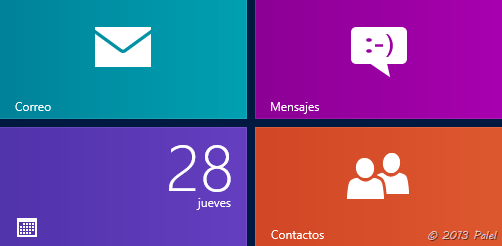 Aplicaciones Windows 8 - 1