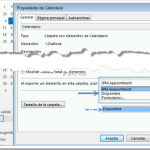 Outlook | Citas por defecto en estado Disponible (u otro)