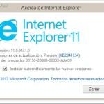 Windows 8.1 Preview | Internet Explorer 11 y novedades