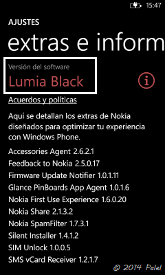 Windows Phone Black - Palel