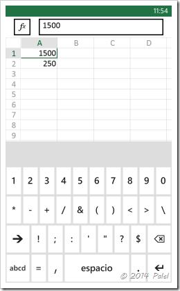 Excel Mobile: Copiar y Pegar celdas - Imagen 2