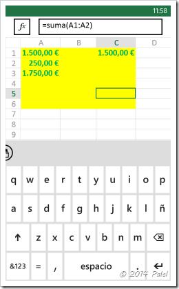 Excel Mobile: Copiar y Pegar celdas - Imagen 10