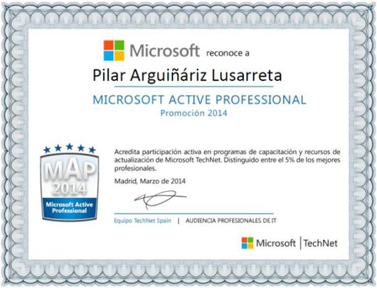 Microsoft Active Professional 2014