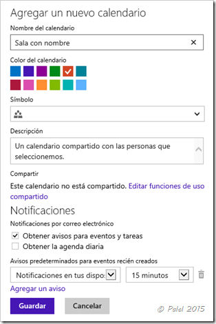 Salas en Windows Phone - palel.es