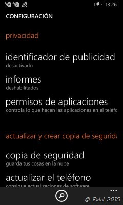 WP 8.1 Update 2 - WP10 - palel.es