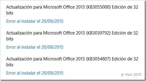 Windows 10 Actualización - Office - Palel.es