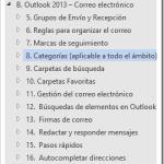 Curso de Outlook | Capítulo B Subcapítulo 8: Categorías