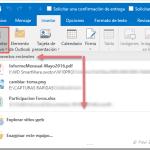 Outlook 2016: Desactivar o cambiar el número de Elementos recientes en Adjuntar archivo