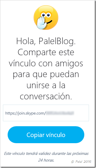Skype como invitado
