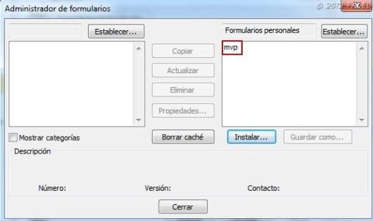 Formularios personalizados - Paso 8