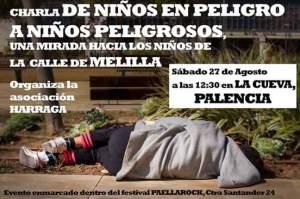 CHARLA NIÑOS EN LA CALLE DE MELILLA AGOSTO 2016
