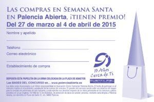 Papeleta Compras Semana Santa 2015