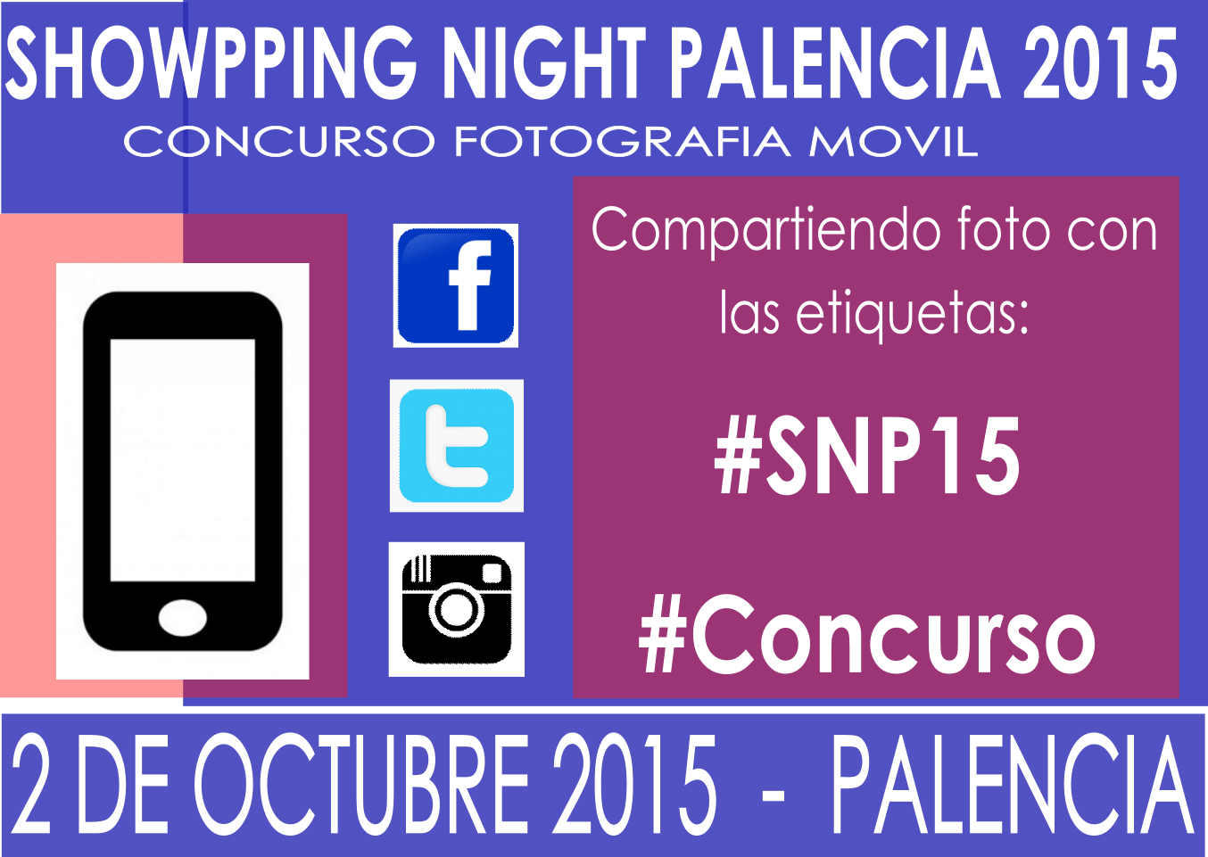 Concurso Showpping Night Palencia 2015