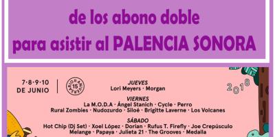 Ganadores Sorteo Festival Palencia Sonora