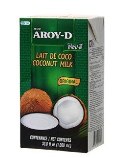 Aroy-D Kokosnussmilch, ohne Konservierungsstoffe 12 x 1L - 1
