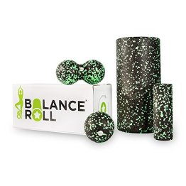 Balance Roll - Made in Germany - Faszienrolle - verschiedene Varianten (Komplett Set (Rolle groß, Rolle klein, Ball & Duoball)) - 1
