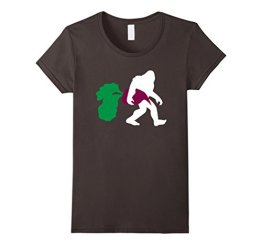 Bigfoot Beet Shirt, Paleo Sasquatch Healthy Veggies Gift Damen, Größe S Asphalt - 1