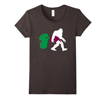 Bigfoot Beet Shirt, Paleo Sasquatch Healthy Veggies Gift Damen, Größe S Asphalt - 1