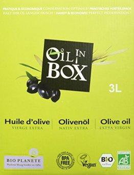 Bio Planète Bio Olivenöl nativ extra 3 L in der Box aus kontrolliert biologischem Anbau - 1