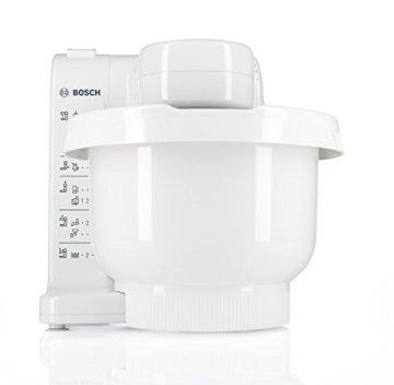 Bosch MUM4405 Küchenmaschine MUM4 (500 Watt, 3.9 Liter) weiß - 2