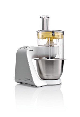 Bosch MUM54251 Küchenmaschine Styline MUM5 (900 Watt, Edelstahl-Rührschüssel inklusiv integriertem Zubehör) - 2