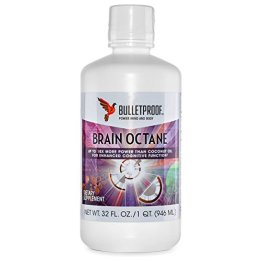 Bulletproof Upgraded Brain Octane Oil (C-8 MCT Öl, 940 ml) - 1