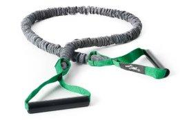 DITTMANN Premium Body Tube Expander Fitnessband Nylonummantelung grün/mittel - 1