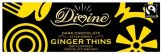 Divine Chocolate - Dark Chocolate After Dinner Ginger Thins - 200g - 1