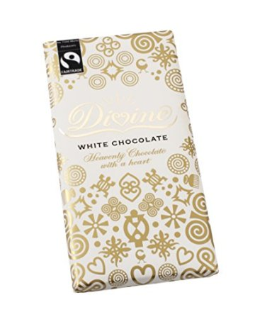 Divine Chocolate - White Chocolate - 100g (Case of 15) - 1