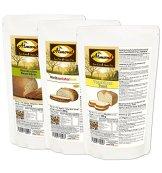 """Dr. Almond Paleo Brot Backmischung PROBIERPAKET """"MILD & HELL"""" low-carb glutenfrei sojafrei (3er Pack mit 3 Sorten), Das Original LIMITED EDITION! - 1"""