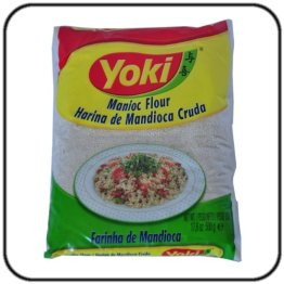 Farinha de Mandioca Crua - Yoki - 500gr - 1