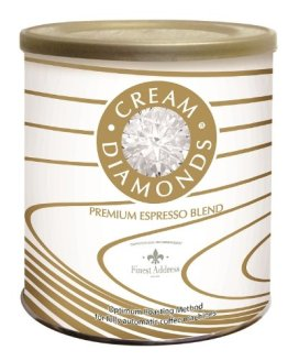 Hornig Cream Diamonds' Café-Espresso, ganze Bohne, 4er Pack (4 x 250 g) - 1