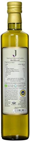 Jordan Olivenöl Natives BIO - extra - 0,50L Flasche, 1er Pack (1 x 500 ml) - 3