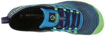 Merrell VAPOR GLOVE 2, Herren Outdoor Fitnessschuhe, Blau (RACER BLUE/BRIGHT GREEN), 50 EU - 8