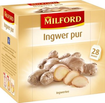 Milford Ingwer pur 28 x 2.00 g, 6er Pack (6 x 56 g) - 1