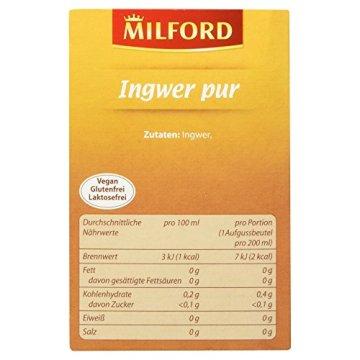Milford Ingwer pur, 56 g - 4
