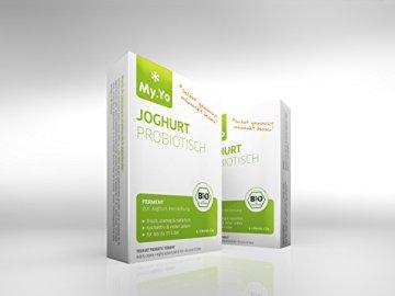 My.Yo Joghurt Probiotisch, Joghurtferment zur Joghurtherstellung, 3 Beutel, Bio-Zertifiziert - 2