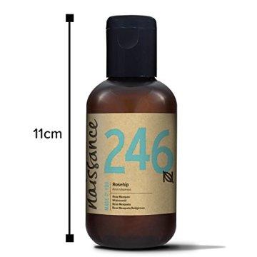 Naissance Wildrosenöl / Hagebuttenkernöl - 100ml 100% rein - 3