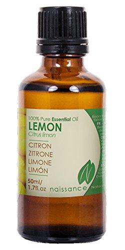 Naissance Zitronenöl 50ml 100% naturreines ätherisches Öl - 1