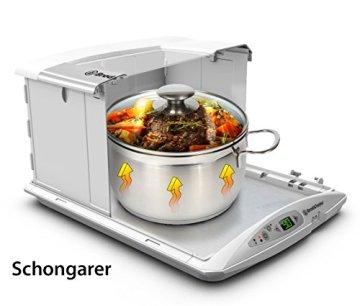 Neue Version: Brod & Taylor Faltbarer Gärautomat und Schongarer zum Joghurt herstellen, Fermentieren, Schokolade Schmelzen - 3