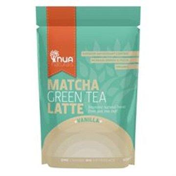 NUA Naturals - Matcha Green Tea Latte - Vanilla - 50g - 1