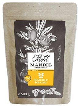 Ölmühle Solling Mandelmehl teilentölt, 1er Pack (1 x 0.5 kg) - 1