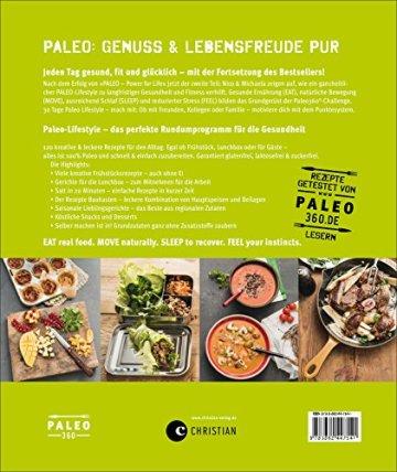Paleo 2 - Steinzeit Diät: Power every day. eat • move • sleep • feel • 120 neue Rezepte glutenfrei, laktosefrei & alltagstauglich. Mit Steinzeiternährung & Bewegung langfristig fit und gesund werden - 9